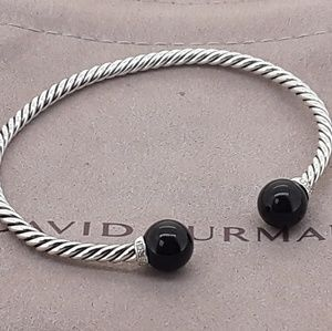 David Yurman Solari Bracelet Black Onyx & Diamonds